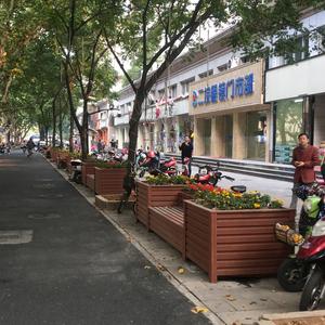 紹興越城區pvc花箱工程