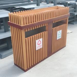 垃圾桶pvc花箱